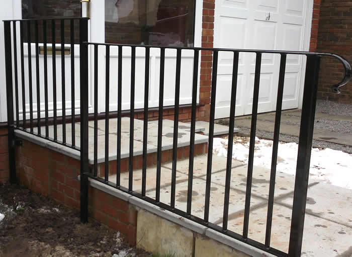 Wrought Iron Balustrades made by Compton Welding in Swindon | Bannister |Bepoke Wrought Iron ...