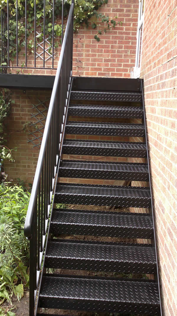 Wrought Iron Fire Escapes Compton Welding Swindon