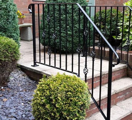 Balustrade made by Compton Welding